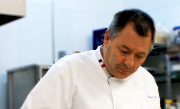 Pastry Chef Sylvain Rivet