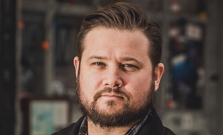 Mixologist Brad Pitts