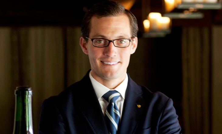 Head Sommelier Andy Chabot