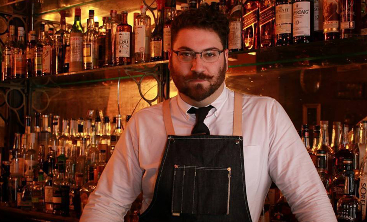 Bar Manager Adam Rothstein