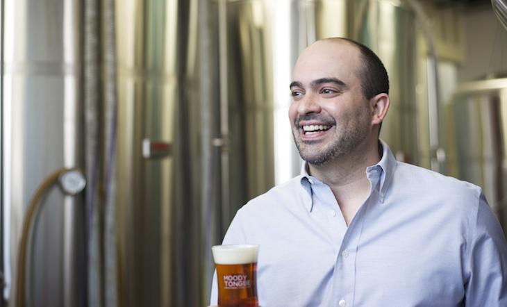 Brewmaster Jared Rouben