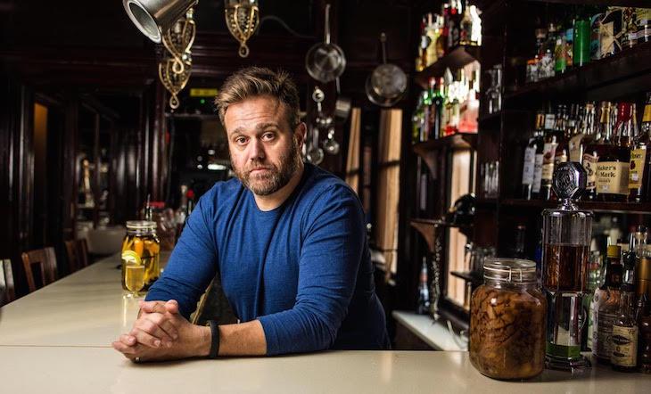 Owner/Bartender Todd Thrasher