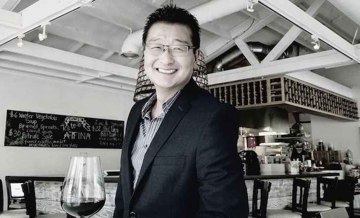 Winemaker/Co-Owner Richard Oh