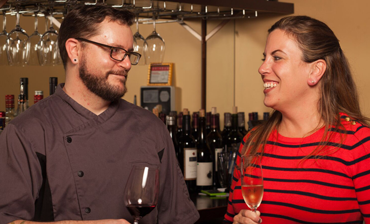 Andy Dekle and General Manager/Sommelier Megan Hartz