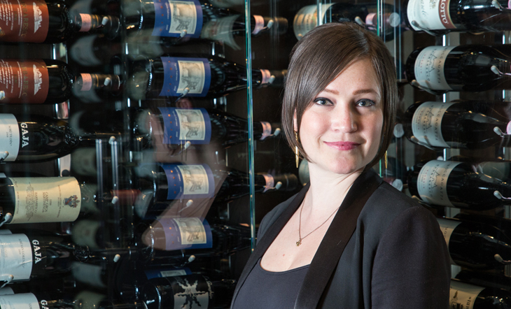 Sommelier Rachael Lowe (Photo: Galdones Photography)