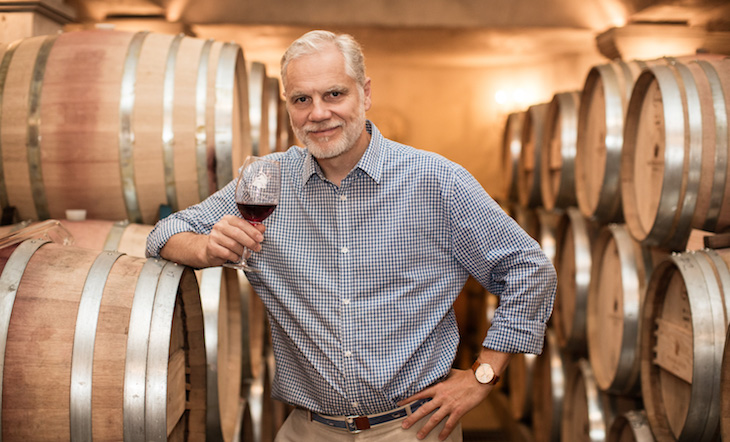 Winemaker/Partner Roman Roth (Photo: Mark Weinberg)