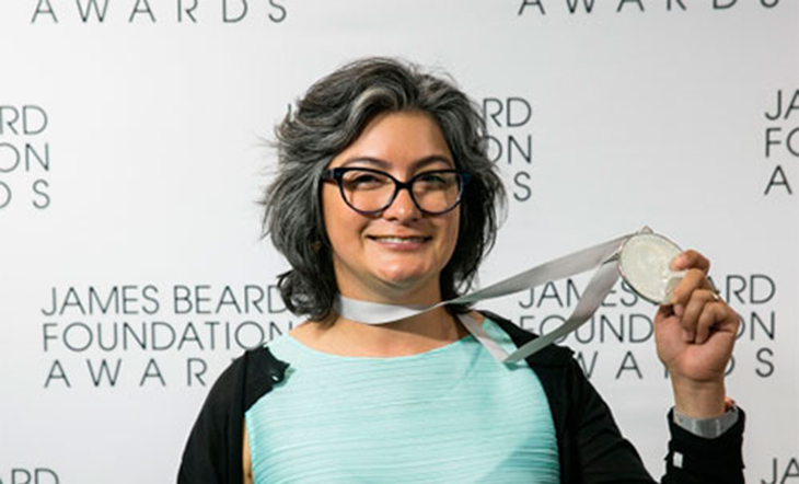JBF Award–Winning Pastry Chef Dahlia Narvaez (Photo: Galdones Photography)