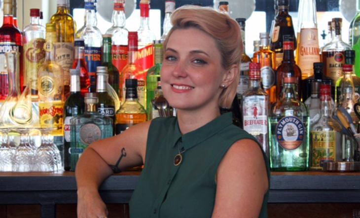 Head Bartender Stacey Swenson