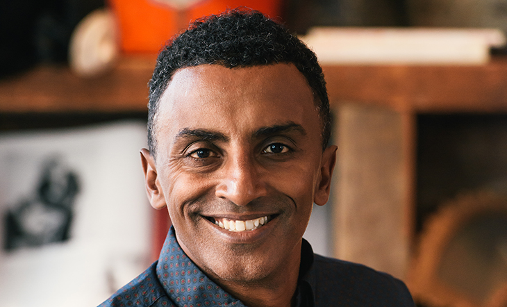 JBF Award Winner Marcus Samuelsson (Photo: Matt Dutile)