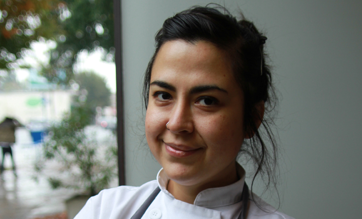 Pastry Chef Geovanna Salas