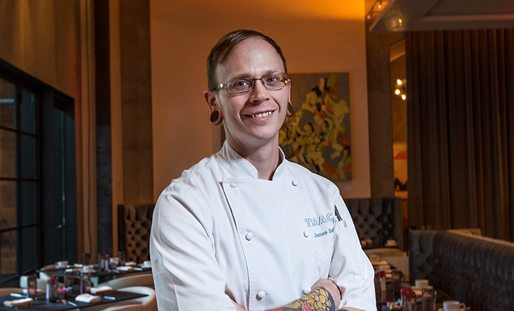 Host Chef James Zoller (Photo: Knox Photographics)
