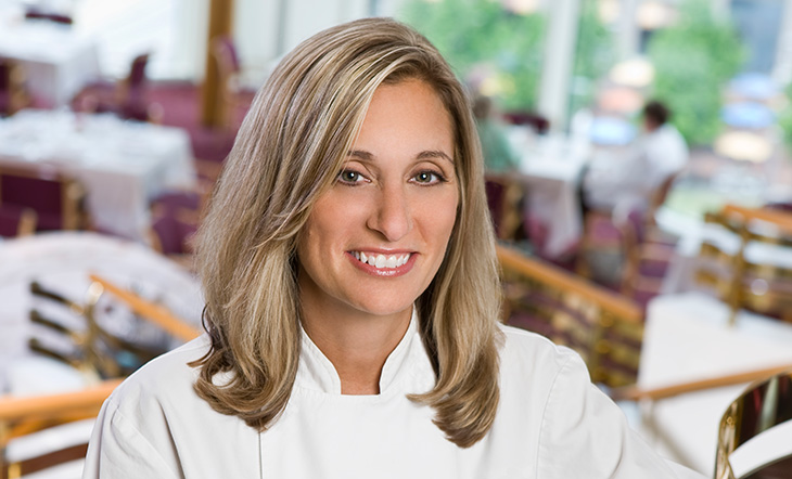 Local Star James Beard Award Winner Debbie Gold (Photo: Ron Burg)