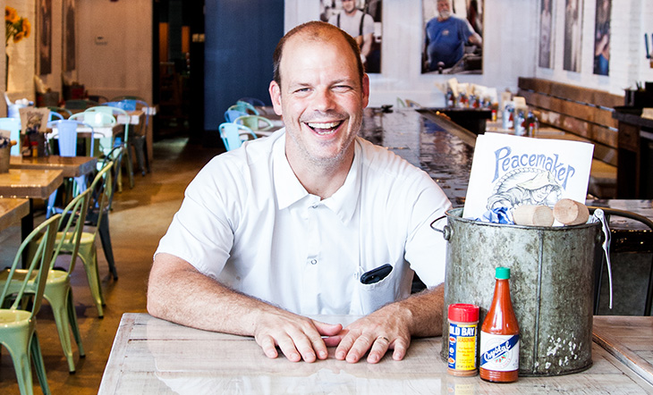 James Beard Award Winner Kevin Nashan (Photo: Jonathan Gayman)