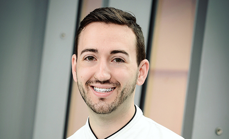 Host Pastry Chef Aaron Clouse