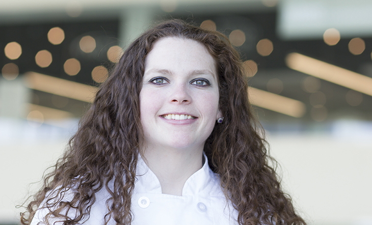 Host Pastry Chef Justine James
