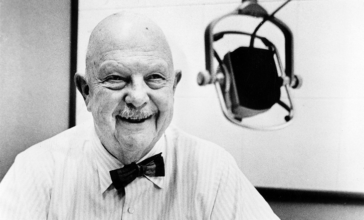 James Beard at Reed College (Photo: Courtesy of Reed College)