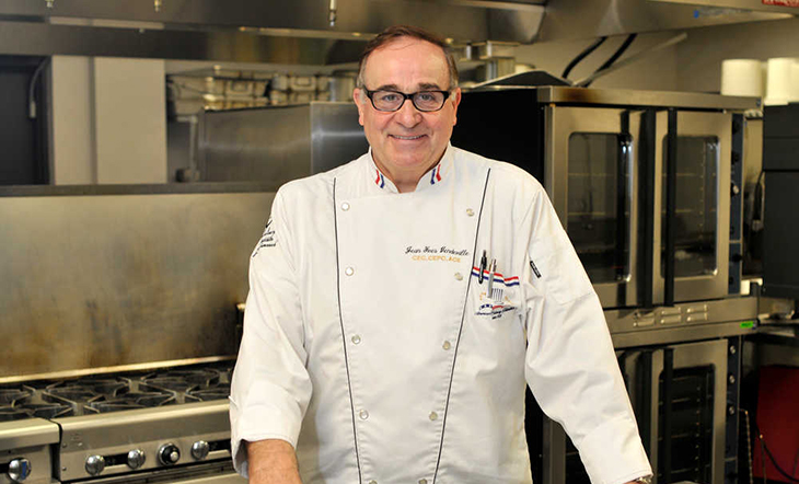 Pastry Chef Jean Vendeville