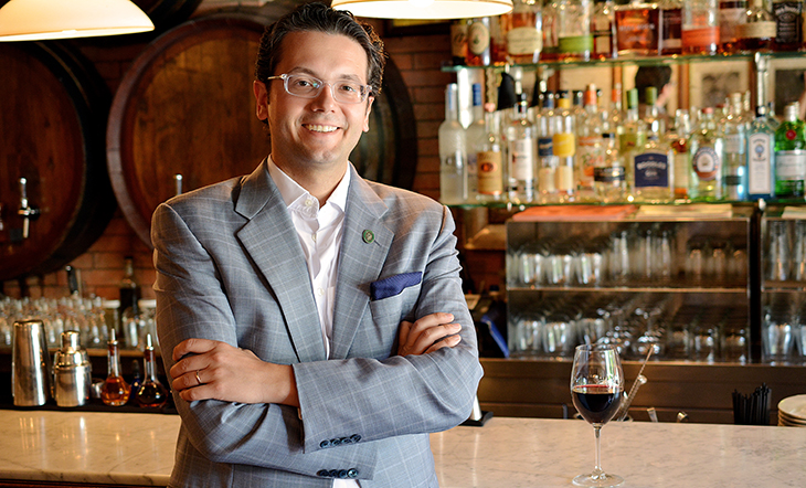 Wine and Beverage Director Hristo Zisovski