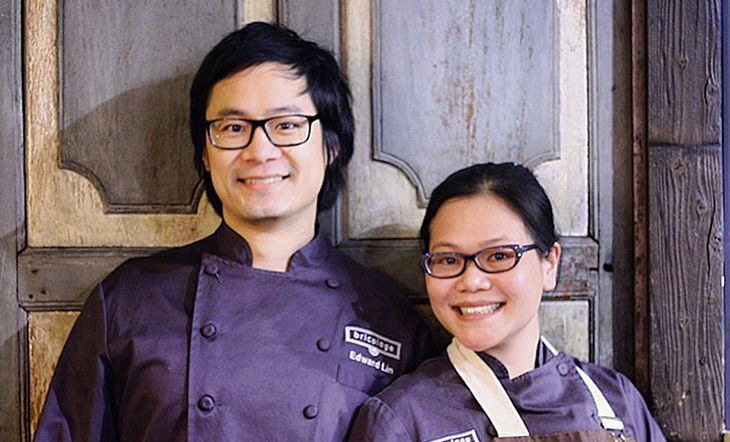 Edward Lin and Lien Lin (Photo: Couples Cookbook)