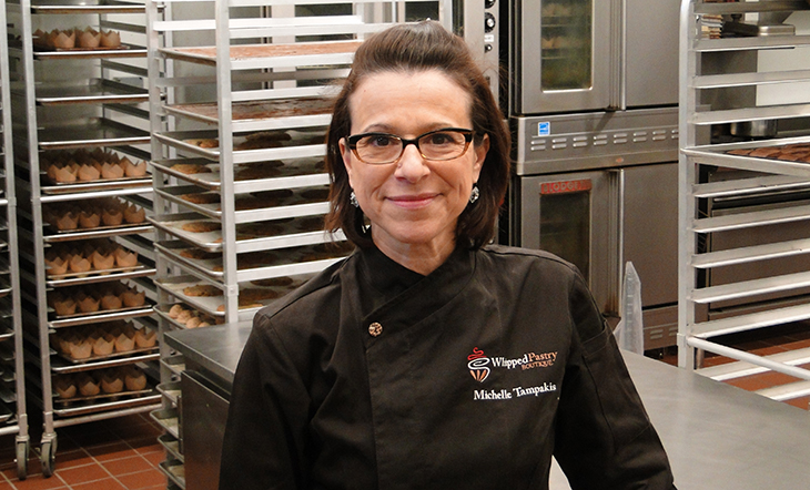 Pastry Chef/Owner Michelle Tampakis