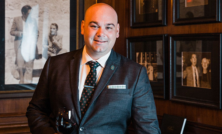Sommelier Gregory Mayer