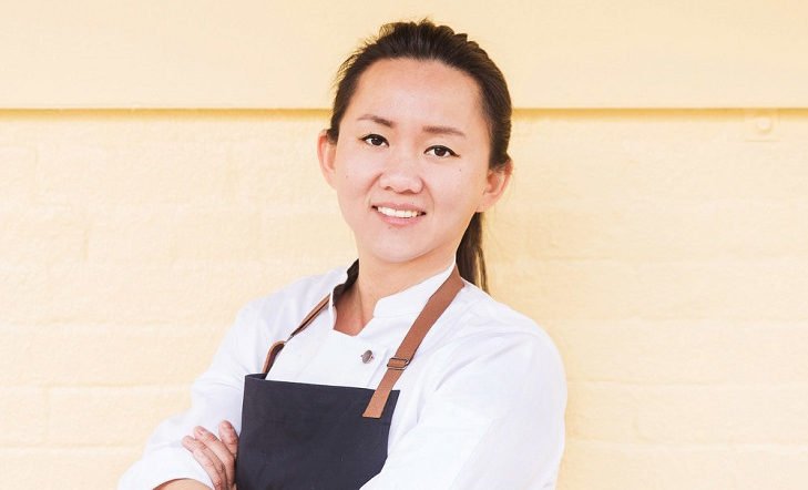 Chef/Owner Simone Tong