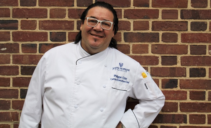 Campus Executive Chef Philippe Chin