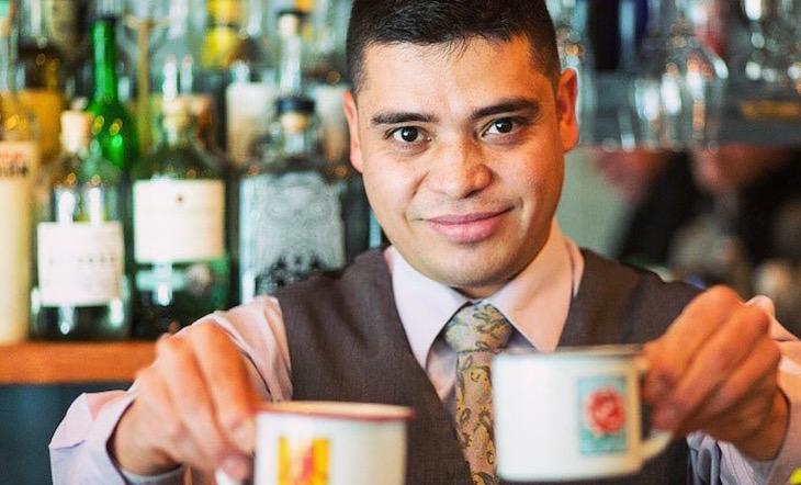 Bartender / Partner Alex Valencia