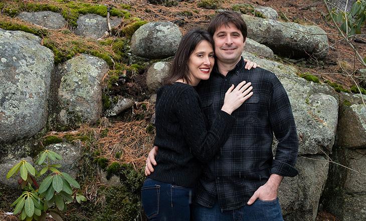 Danielle Walker and Justin Walker