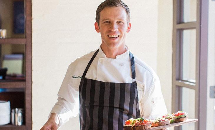 Host Chef Reid Shilling