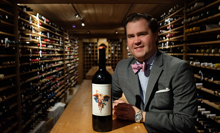 Sommelier John Kelley (Photo: Atlas Restaurant Group)
