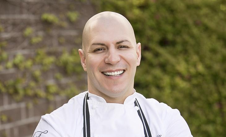 Host Chef Oscar Gonzalez