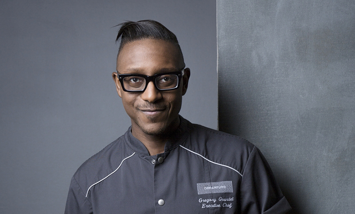Host Chef Gregory Gourdet (Photo: Nicole Clemetson)