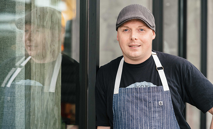 Pastry Chef Jeremy Harville