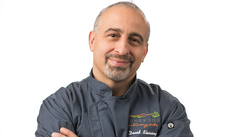 Host Chef David Blessing
