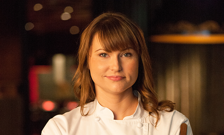 Host Chef Holly Jivin