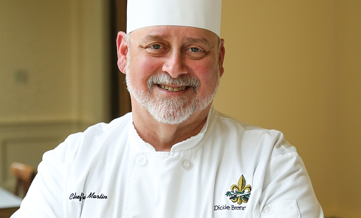 Host Chef Gust Martin (Photo: Palace Café)