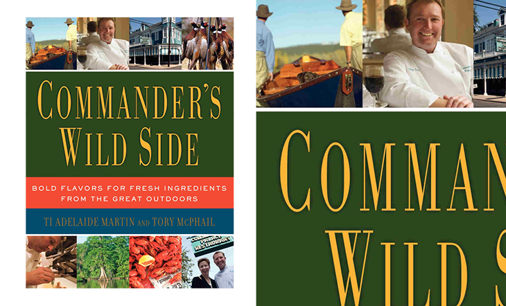 "Ti Adelaide Martin and Tory McPhail's ""Commander's Wild Side"""