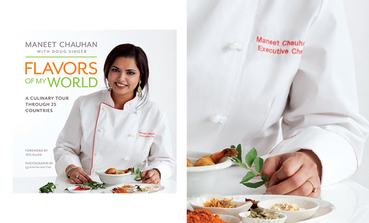 "Maneet Chauhan's ""Flavors of My World"""