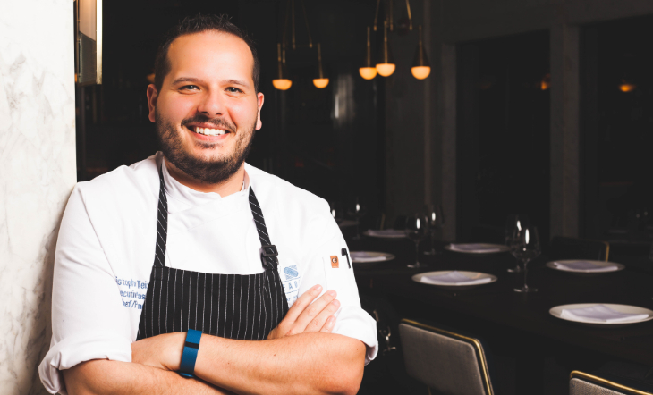 Pastry Chef Chris Teixeira