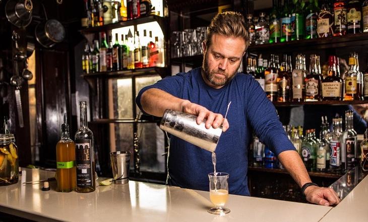 Bartender Todd Thrasher