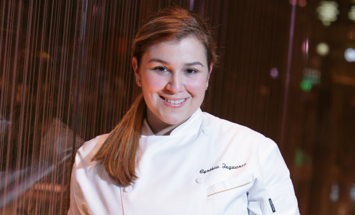 Assistant Executive Pastry Chef Cynthia Inguanzo (Photo: Annie Singer)
