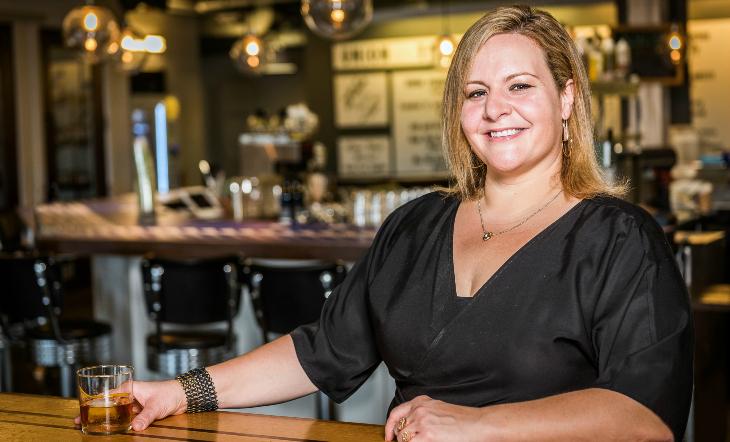 Owner/Head Bartender Gina Chersevani (Photo: Ray Lopez)