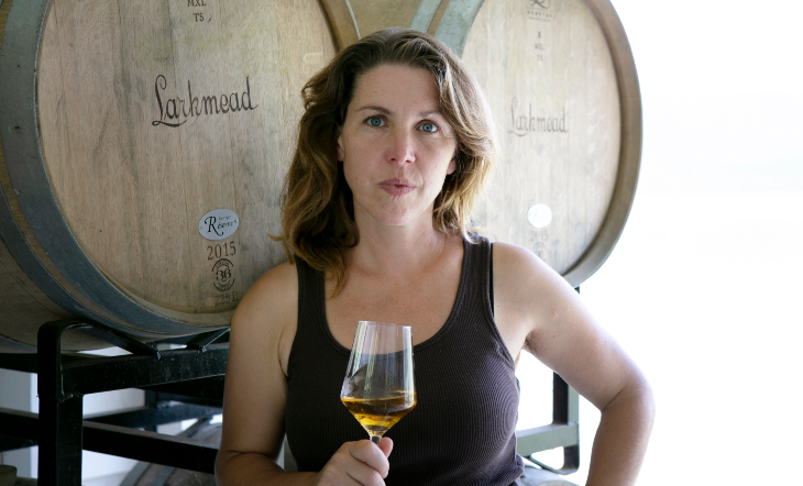Cidermaker/Owner Autumn Stoscheck (Photo: Liz Pickard)
