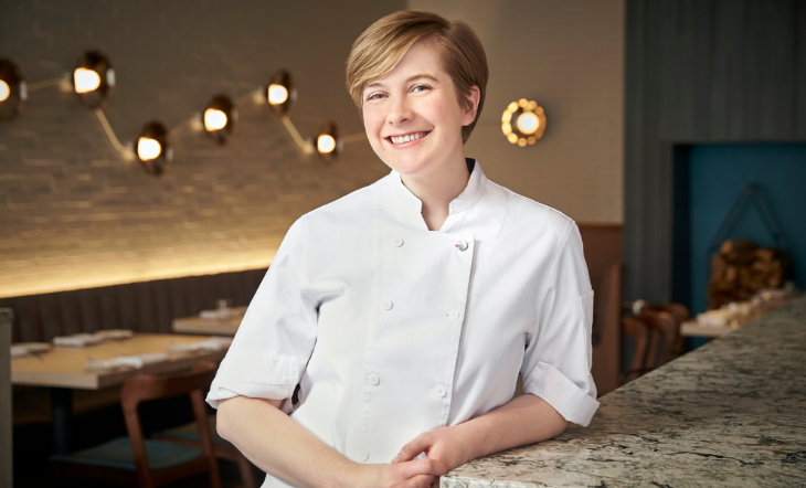 Executive Pastry Chef Caitlin Dysart