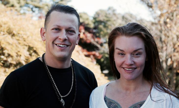 Michael Ceraldi and Beverage Director Jessica Ceraldi