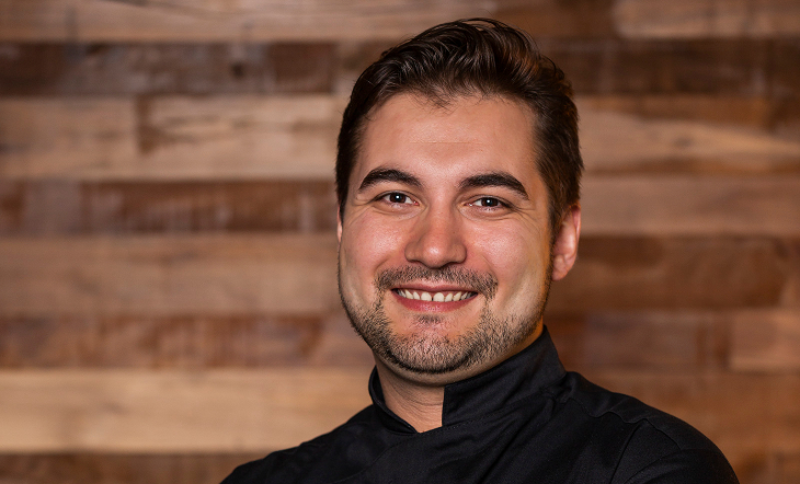 Pastry Chef Vincent Pellerin