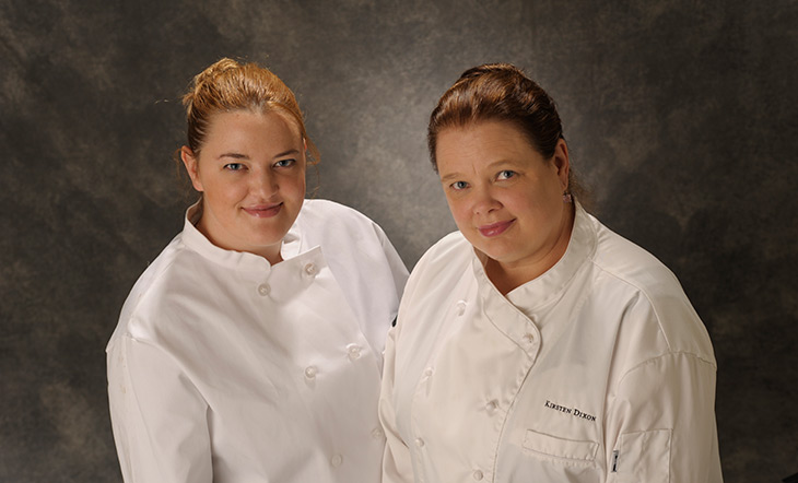 Chef/Owner Mandy Dixon and Owner Kirsten Dixon