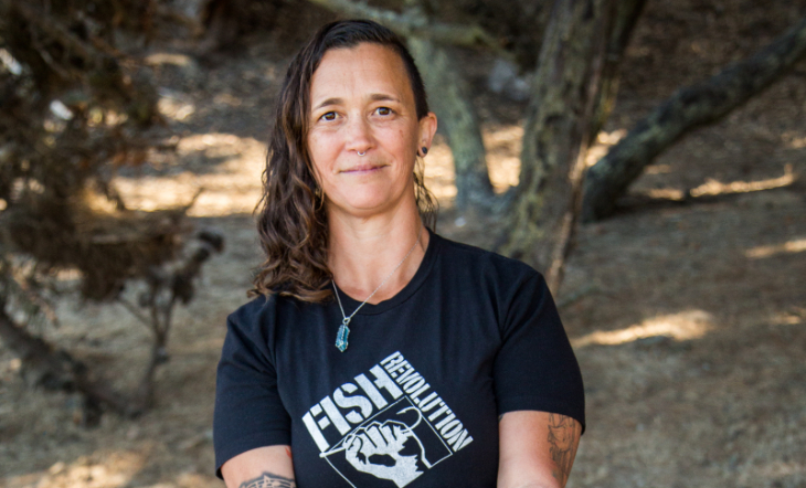 Founder/Sustainable Fisheries Scientist Crystal Sanders-Alvarado