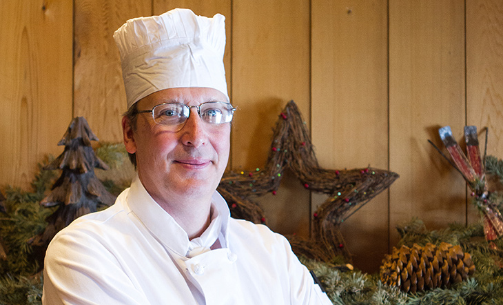 Executive Pastry Chef Stephen Harty